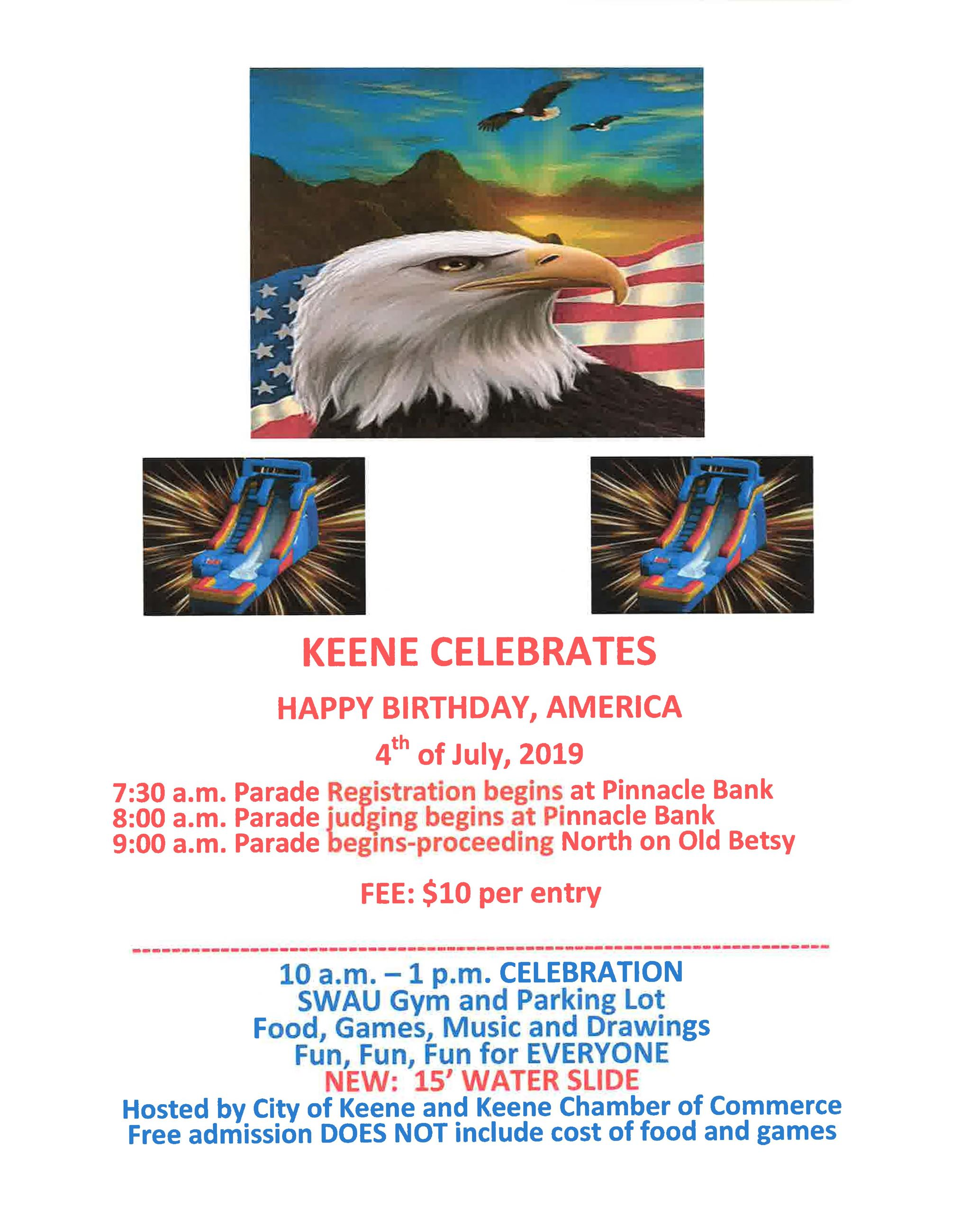 4th of July flyer 2019